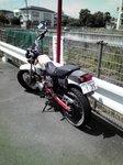 放置バイク